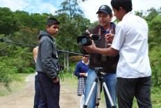 rodaje del Viento y la Laguna, Gachantivá, Boyacá, 2016