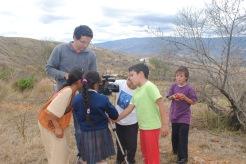 estudiantes de la vereda Ritoque, Villa de Leyva, Boyacá