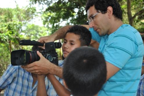 estudiantes de la vereda Butaregua, Barichara, Santander