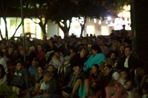 Paz Anónima, premier en Villanueva, Santander. El publico asistió masivamente