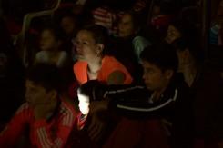 Paz Anónima, premier en Villanueva, Santander. Familias enteras respondieron al llamado
