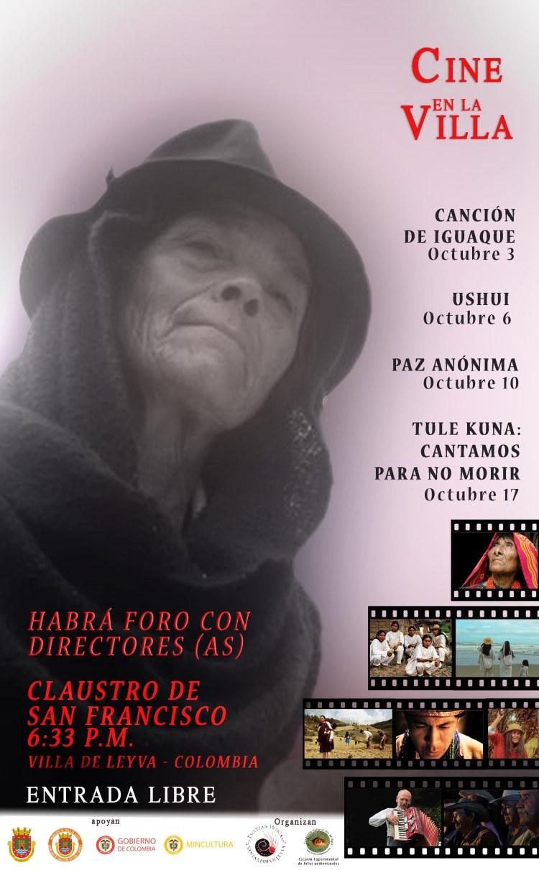 Afiche Cine Villa,