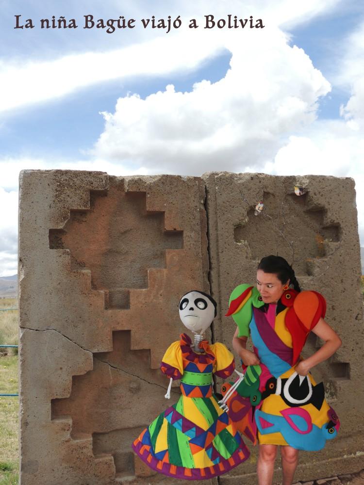 Niña Bagüe en Bolivia